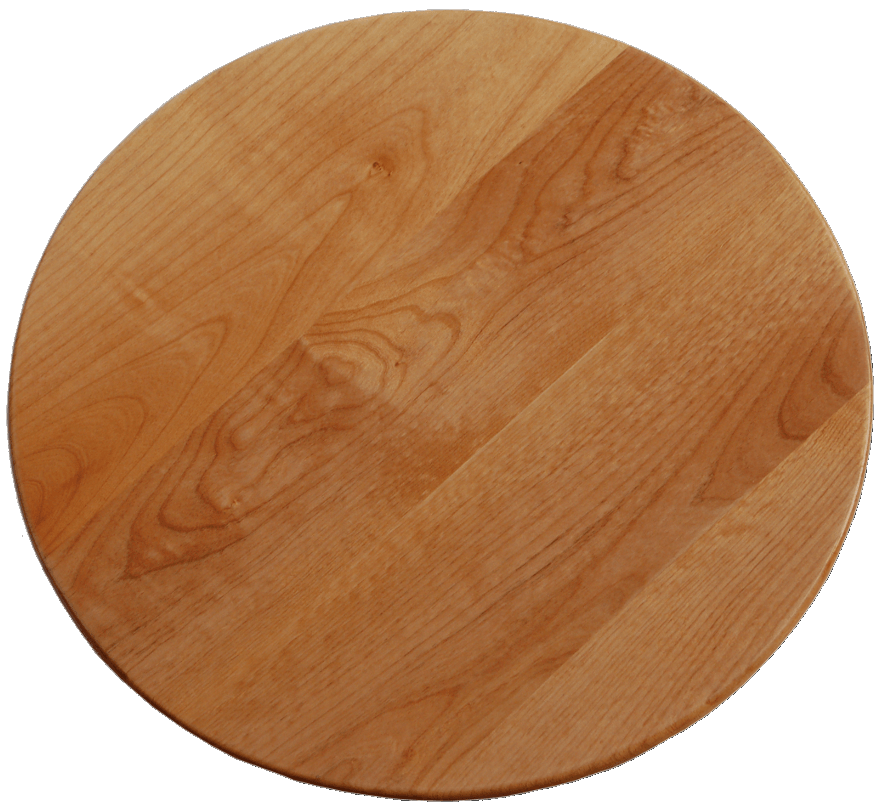 begin by selecting a type of wood for your lazy susan