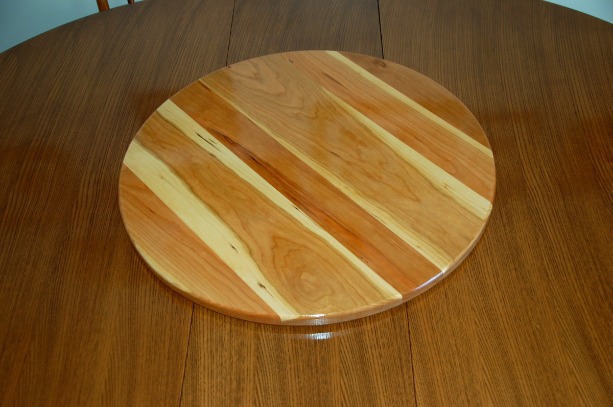 lazy susan in action